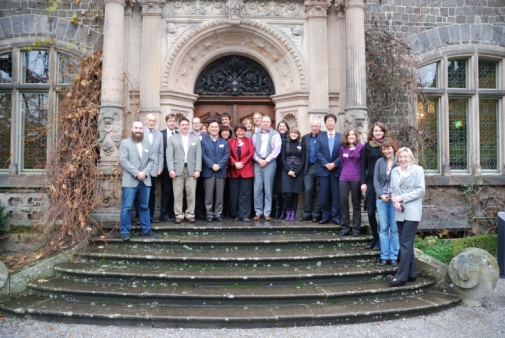 The first international meeting of the NEO-ER network, at Giessen University, Germany, in 2010