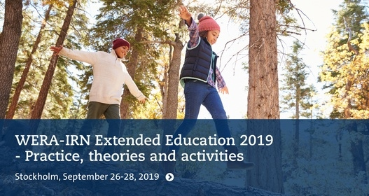 WERA-IRN Extended Education 2019 - Practice, theories and activities
