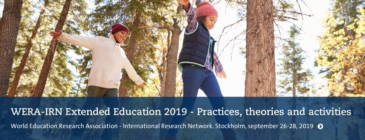 WERA-IRN Extended Education 2019 - Practices, theories and activities.