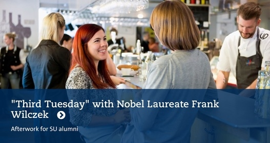 Third Tuesday with Nobel Laureate Frank Wilczek