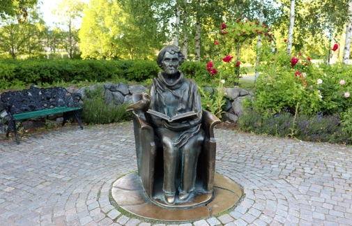 Astrid Lindgren-staty. Foto: Maria Groth/mostphoto